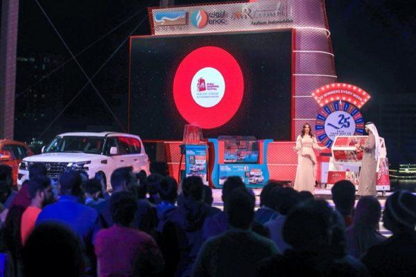 العروض الترويجية والجوائز القيّمة للدورة الخامسة والعشرين لمهرجان دبي للتسوّق تحفّز المتسوّقين على اقتناص أفضل العروض والصفقات وتساهم في زيادة المبيعات