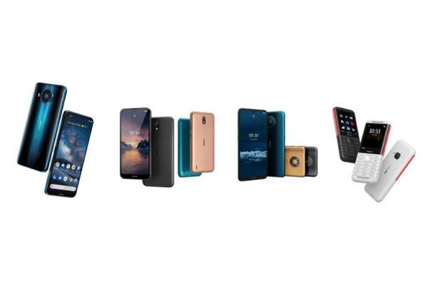 هاتف ذكى جديد بتكنولوجيا للجيل الخامس يتصدر اصدارات هواتف نوكيا الذيه الجديده