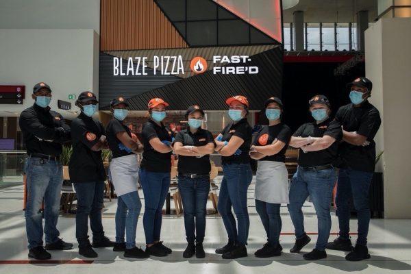 مطعم بليز بيتزا يطلق فرعه الأول في دبي