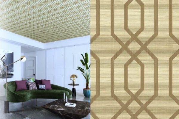 ودّعي السقف الأبيض التقليدي وأضيفي لمسةً مميزة إلى سقف منزلك
