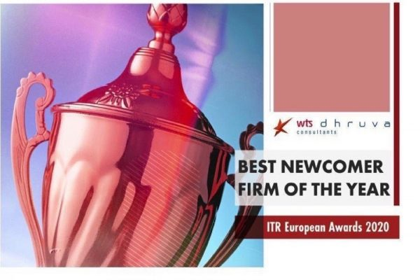 """شركة دبليو تي إس دورفا كونسلتانتس  تفوز بجائزة """"أفضل شركة وافدة جديدة""""  من مجلّة مراجعة الضرائب العالميّة"""