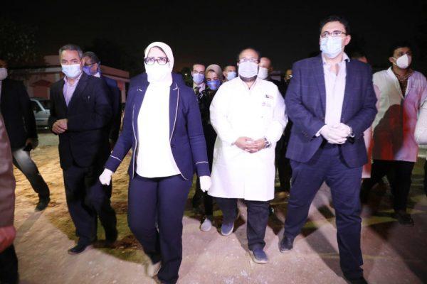 وزيرة الصحة: توفير 35 ألف سرير بالمستشفيات لاستقبال الحالات المصابة بفيروس كورونا المستجد