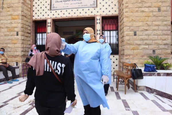 فحص 6 آلاف طالب ومشرف بامتحانات الثانوية العامة ببورسعيد