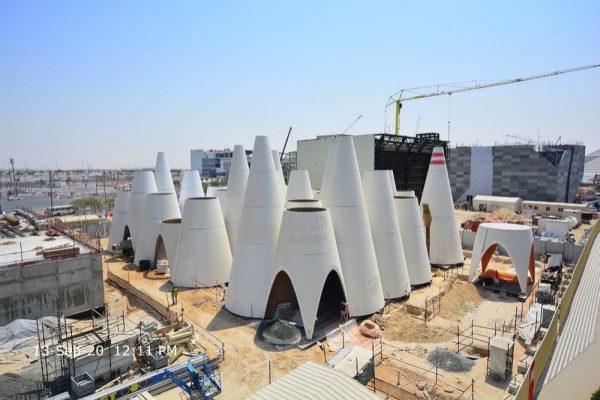 النمسا تنتهي من أعمال البناء الخارجية لجناحها في إكسبو 2020 دبي