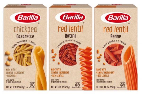 """""""باريلا"""" تطرح مجموعة المعكرونة البقولية"""