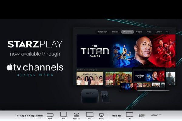 STARZPLAY تطلق خدماتها عبر قنوات Apple TV