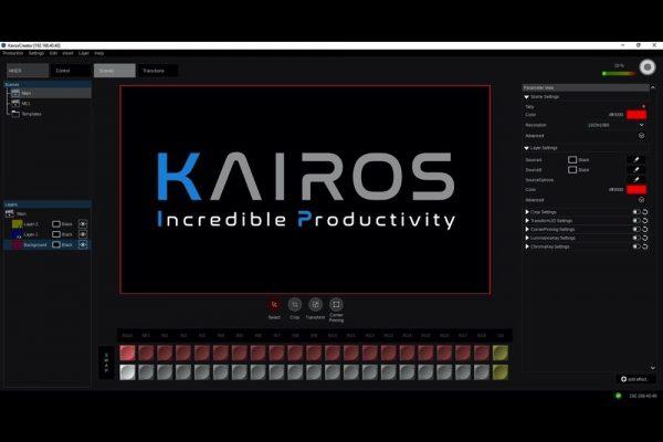 باناسونيك تطلق منصة KAIROS لإنتاج الفيديو المباشر
