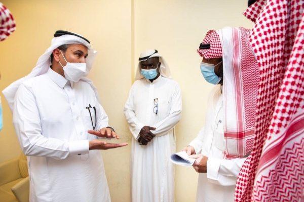 على هامش تدشينه عددًا من المشروعات التنموية بمنطقة مكة