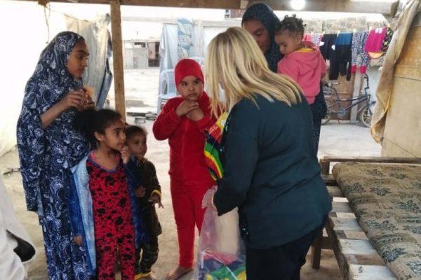 الشريفة بدور ترعى انطلاق حملة الكسوة الشتوية من مبادرة جدارا