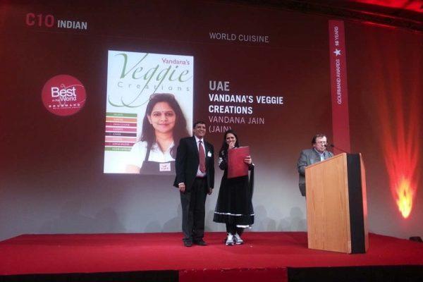 فاندانا جين تفوز بجائزة غورماند العالمية المرموقة