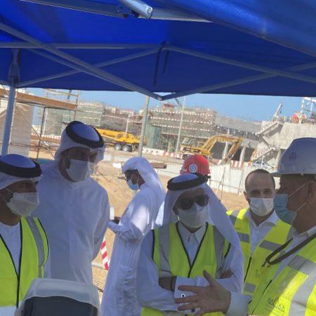 وزير الطاقة والبنية التحتية إنجاز مشروع إنشاء محطة تحلية المياه بأم القيوين