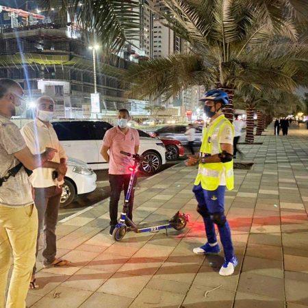 شرطة رأس الخيمة تطلق مبادرة سكوتر الشرطة المجتمعية خلال شهر رمضان المبارك