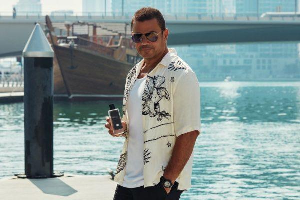 """عطر عمرو دياب الجديد """"34"""" يُطلَق حصرياً على أمازون الإمارات"""