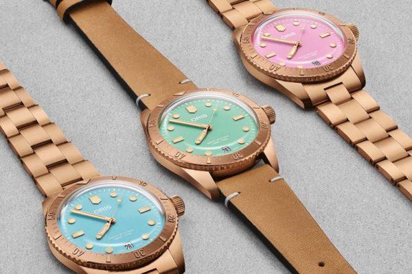 """ساعات """"Oris """" الجديدة بألوان الصيف الأنيقة"""