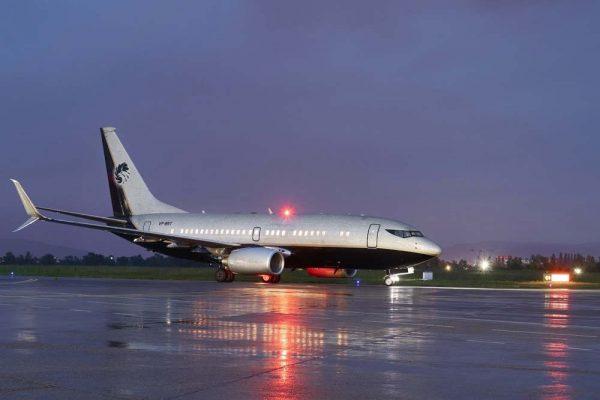 رويال جت تضيف إلى أسطولها الأكبر في العالم طائرة بوينغ بيزنس جت